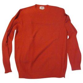 Hermès-Hermes Pullover-Red