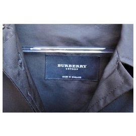 Burberry-raincoat Burberry London t 38-Black