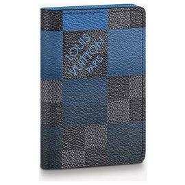 Louis Vuitton-LV pocket organizer new-Blue