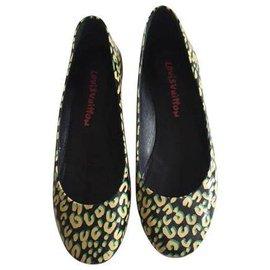 Louis Vuitton-Feline flat ballerina-Leopard print