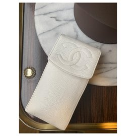 Chanel-Chanel Vintage phone Bag-White