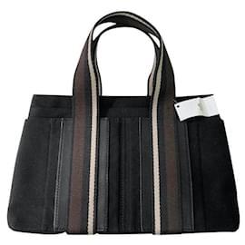 Hermès-Handbags-Black,Dark brown