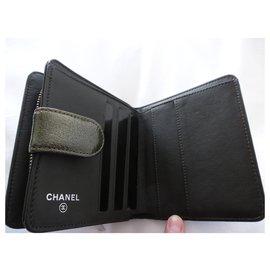 Chanel-Wallets-Khaki