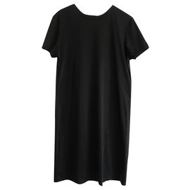 Chanel-SS18 T Shirt Dress-Black