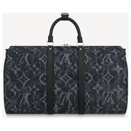Louis Vuitton-LV Keepall Monogram Pastel Noir nouveau-Noir
