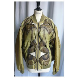 Givenchy-GIVENCHY BOMBER BY RICCARDO TISCI EXCELLENT ETAT T50-Light green