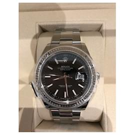 Rolex-DateJust 41-Silver hardware