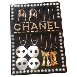 Chanel-Chanel brooch sewing kit-Black