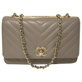 Chanel-Clutch bags-Grey