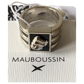 Mauboussin-Wallets Small accessories-Silvery