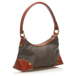 Mulberry-Mulberry Brown Leather Shoulder Bag-Brown,Dark brown
