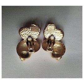 Dior-Boucles d'oreilles-Orange