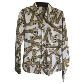Versace-Shirts-White