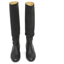 Chanel-TIMELESS BLACK FR37.5-Black