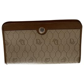 Dior-Purses, wallets, cases-Brown,Beige