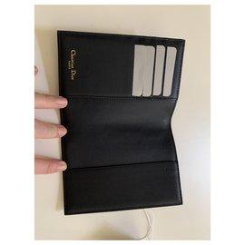 Dior-Bourses, portefeuilles, cas-Noir