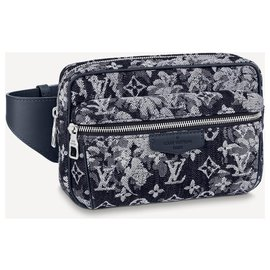 Louis Vuitton-LV bumbag tapestry new-Blue