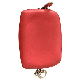 Dior-Purses, wallets, cases-Pink,Red