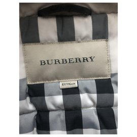 Burberry-Boy Coats Outerwear-Khaki