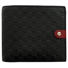 Gucci-GG monogram wallet-Black