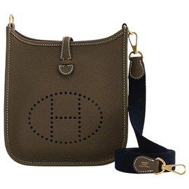 Hermès-Hermes evelyne mini tpm 16 amazone-Brown