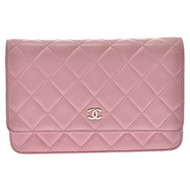Chanel-Chanel Wallet on Chain-Pink