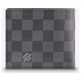 Louis Vuitton-LV Marco wallet new-Grey