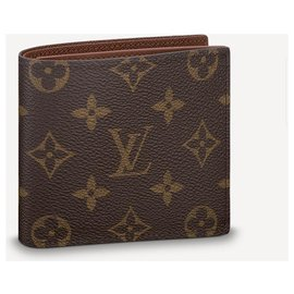 Louis Vuitton-LV Marco wallet new-Brown