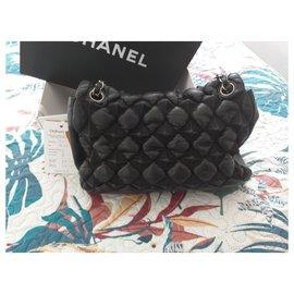 Chanel-chesterfield puffer-Noir