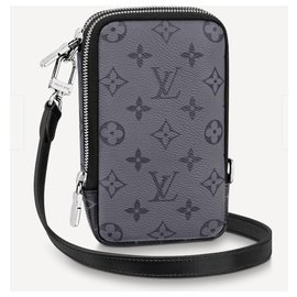 Louis Vuitton-LV lined phone pouch-Grey
