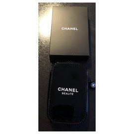 Chanel-Small manicure pouch-Black
