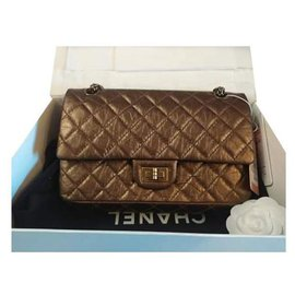 Chanel-255-Brown,Multiple colors,Golden