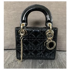Dior-mini lady dior-Black