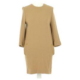 Chloé-robe-Beige