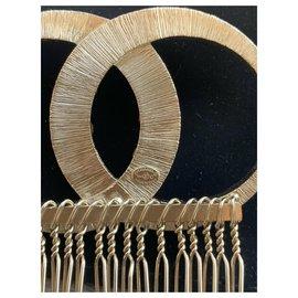 Chanel-Hair accessories-Golden