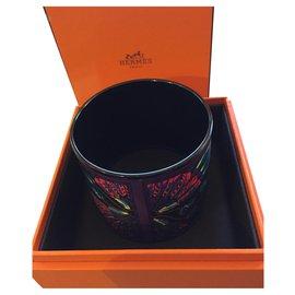 Hermès-Bracelet Hermès extra large en émail-Autre