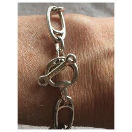 Céline-Iconic bracelet-Silver hardware