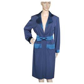 Yves Saint Laurent-Dresses-Navy blue