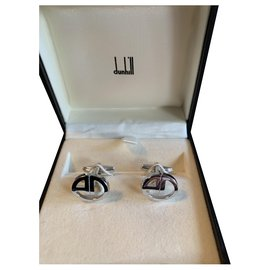 Alfred Dunhill-Cufflinks-Silvery