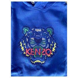 Kenzo-Dresses-Blue