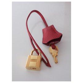 Hermès-HERMES BIRKIN BAG 35 red Hermes-Red