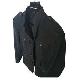 Sonia Rykiel-Sonia Rykiel Jacket Man | Maho Collar | Military Spirit-Black