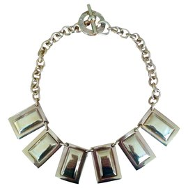 Céline-Céline gold necklace-Golden