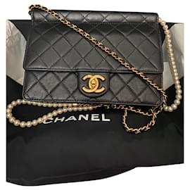 Chanel-Classic Pearl chain-Black