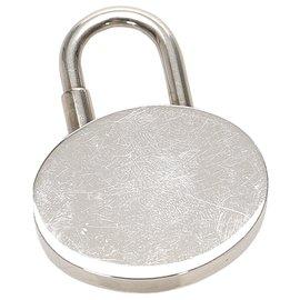 Hermès-Hermes Silver Annee Mediterranee Cadena Lock-Silvery