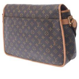 Louis Vuitton-Louis Vuitton Gibecière-Brown