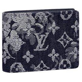 Louis Vuitton-LV Multiple wallet new-Blue