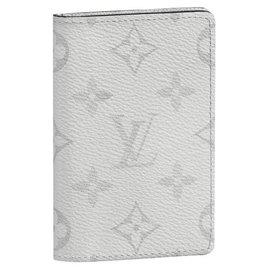 Louis Vuitton-LV Antartica pocket organizer-White