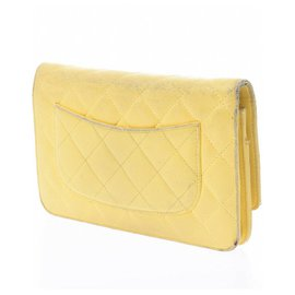 Chanel-Chanel Wallet on Chain-Yellow