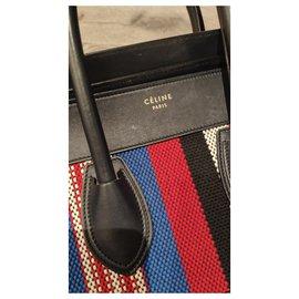 Céline-Céline Luggage Mini Modèle-Navy blue